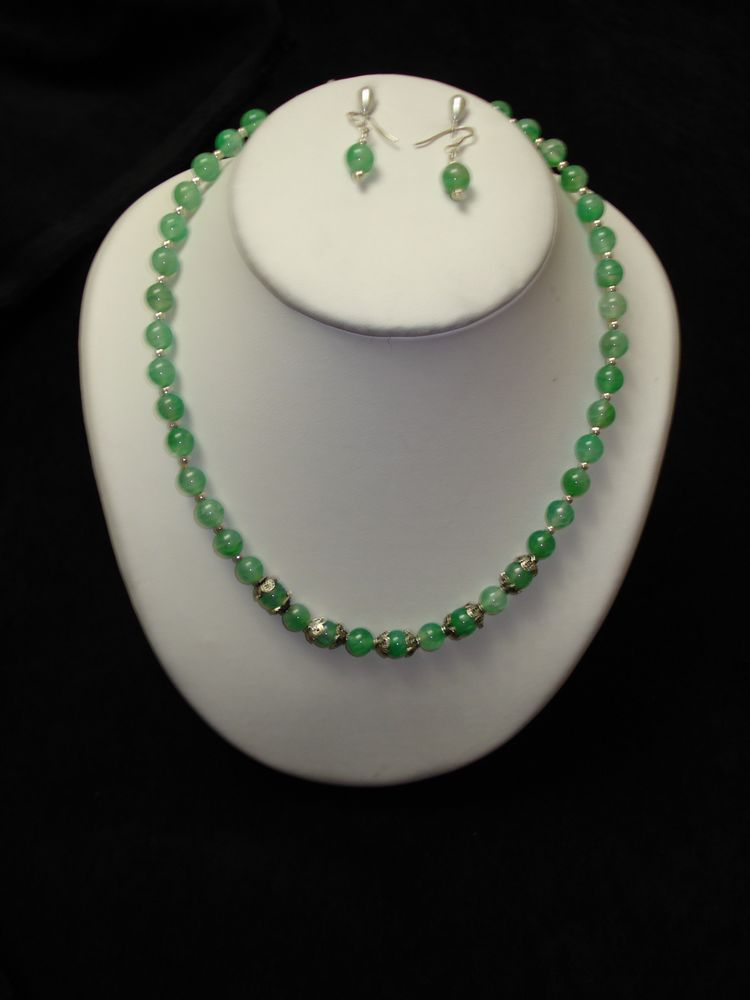 mode de luxe marque populaire rétro collier Agate agathe bracelets boucles d'oreille pierres ...
